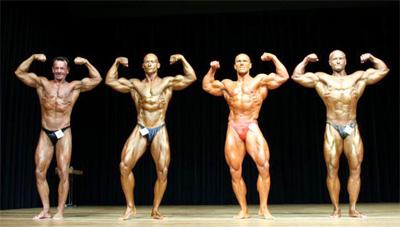 Bodybuilding - Mr. Universum-Wettbewerb